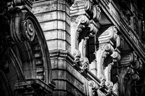 Photograph - Ansonia Building Detail 8 by Val Black Russian Tourchin