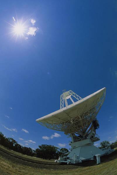 Tele Photograph - Antenna Of The Australia Telescope Compact Array by David Nunuk