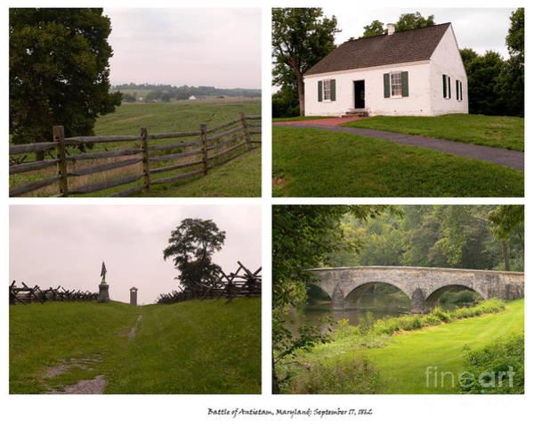 Burnside Bridge Photograph - Antietam Maryland - September 17 - 1862 by David Bearden