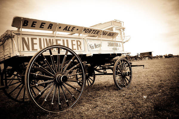 Photograph - Antique American Cart 2 by Emanuel Tanjala