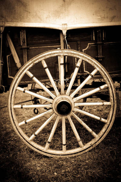 Photograph - Antique American Cart 3 by Emanuel Tanjala