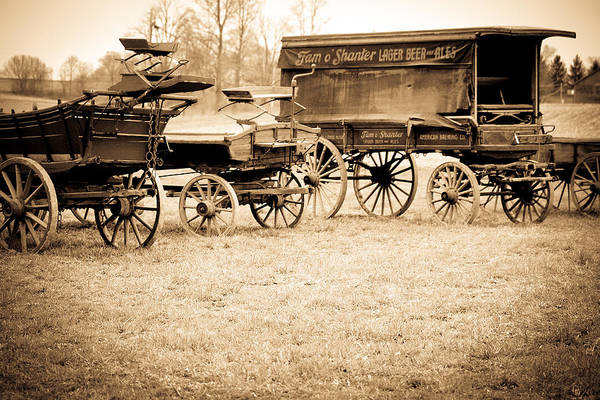 Photograph - Antique American Carts 5 by Emanuel Tanjala