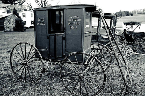 Photograph - Antique American Carts 7 by Emanuel Tanjala