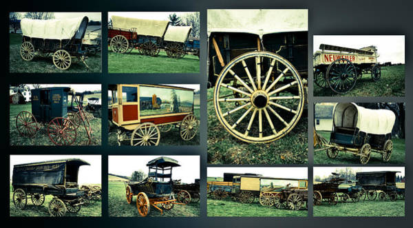 Photograph - Antique American Carts 8 by Emanuel Tanjala