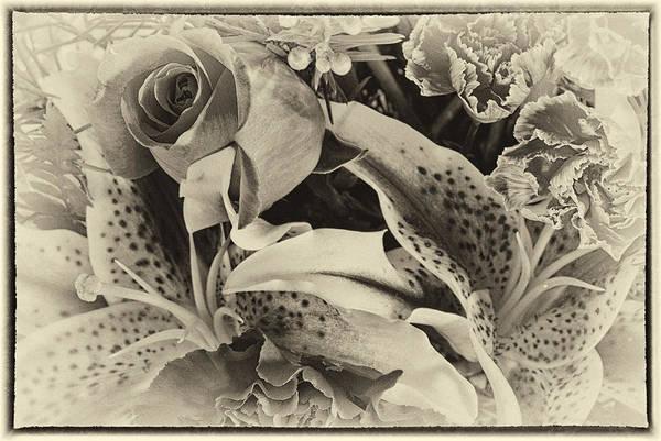 Wall Art - Photograph - Antique Bouquet by Susan Capuano