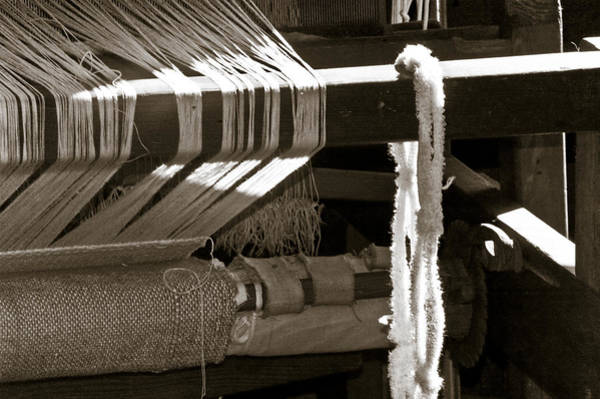 Photograph - Antique Hand Loom by Carolyn Marshall