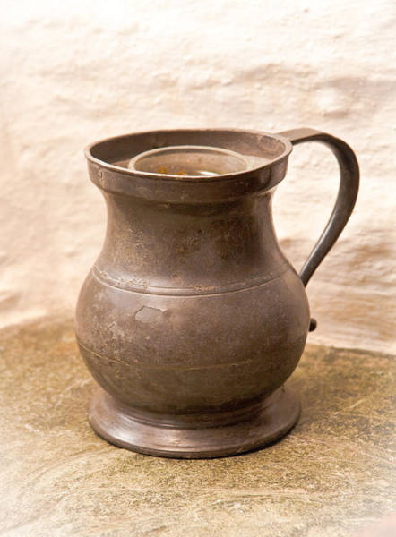 Household Objects Photograph - Antique Jug by Tom Gowanlock