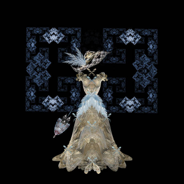 Digital Art - Antique Lace by Karla White