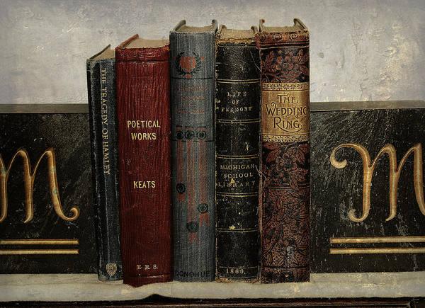 Photograph - Antique Literature by Scott Hovind