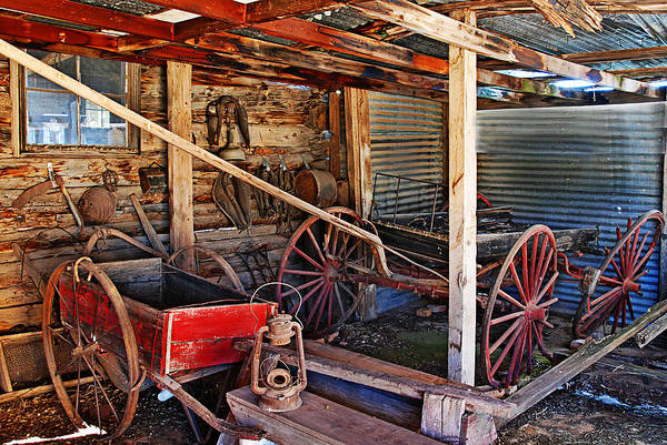 Photograph - Antique Shed by Melany Sarafis