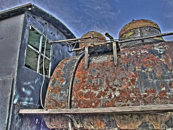 Photograph - Antique Train by HW Kateley