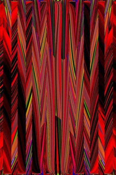 Diagonal Digital Art - Any Way You Slice It 3 by Tim Allen
