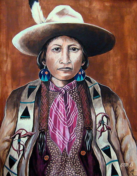 Bergstrom Painting - Apache Colors by Susan Bergstrom