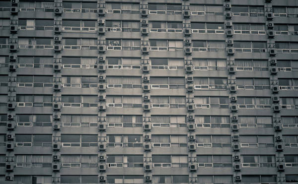 Repetition Photograph - Apartment Windows by Tomomi