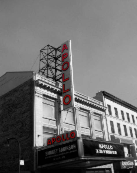 Photograph - Apollo Theater In Harlem New York No.2 by Ms Judi