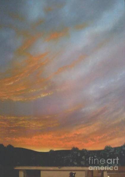 Wall Art - Painting - Appalachain Sunrise by Lisa Bell