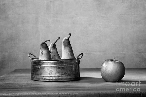 Cottage Style Wall Art - Photograph - Apple And Pears 02 by Nailia Schwarz