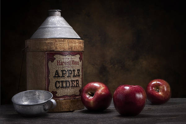 Ripe Photograph - Apple Cider Still Life by Tom Mc Nemar