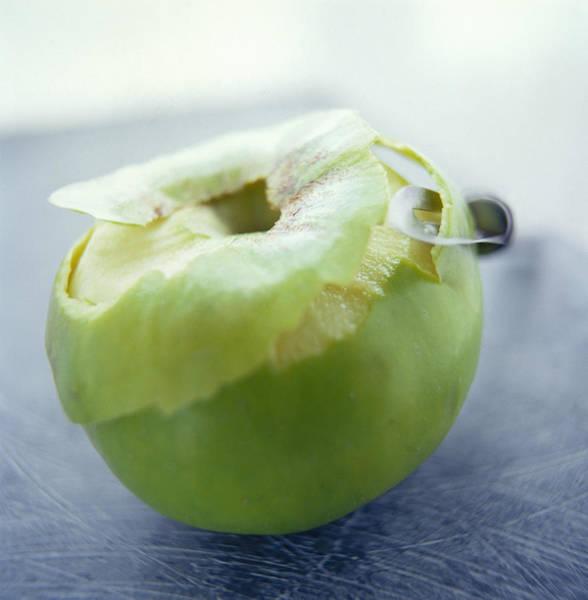 Apple Peel Wall Art - Photograph - Apple by David Munns