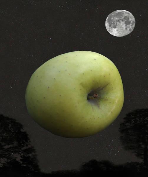 Digital Art - Apple by Eric Kempson