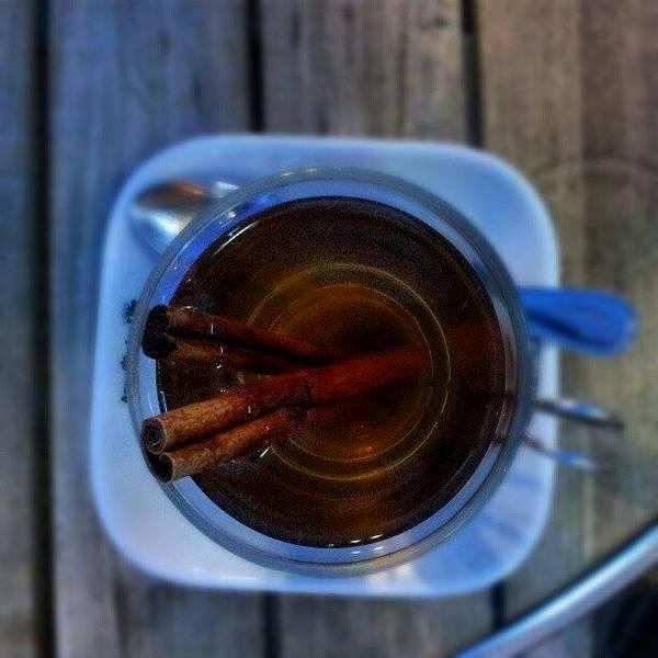 #apple #juice #tea #coffee #cinamon Art Print