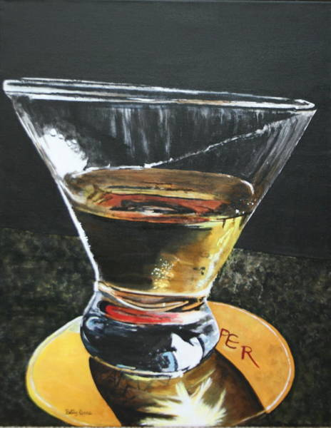 Appletini Painting - Appletini by Betty-Anne McDonald