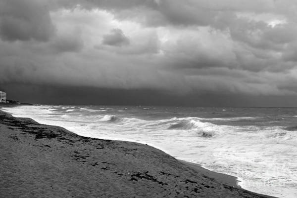 Photograph - Approaching Storm At Sea by Richard Nickson
