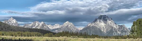 Wall Art - Photograph - Approaching Storm In The Tetons by Sandra Bronstein