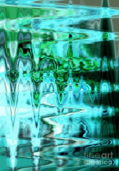 Photograph - Aqua Swirls by Carol Groenen