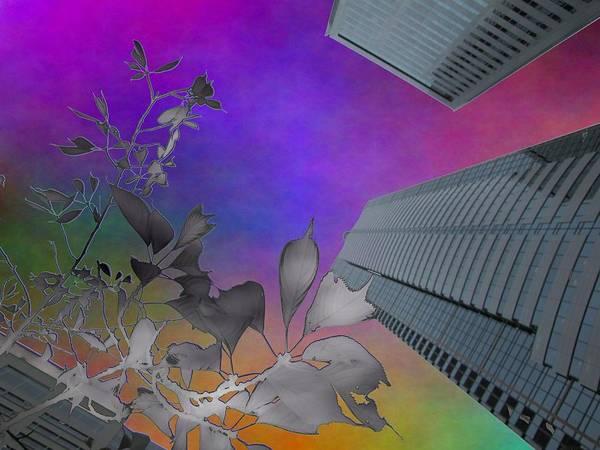 Highrise Digital Art - Arbor Dreaming by Tim Allen