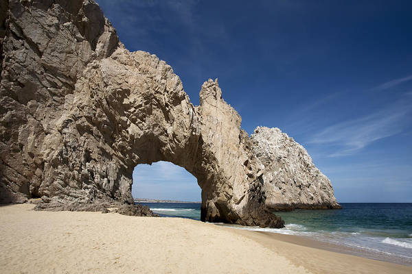 Cabo San Lucas Arch Wall Art - Photograph - Arch Of Cabo San Lucas by Mike Raabe