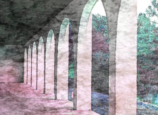 Photograph - Arches 1 by Donna Bentley