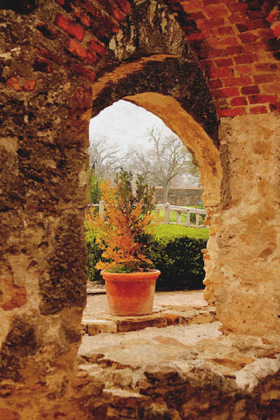 Photograph - Archway Into A Secret Garden II by Sarah Broadmeadow-Thomas