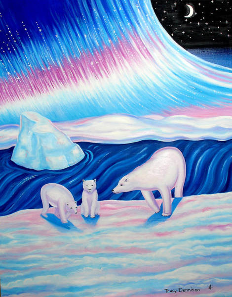 Arctic Nights Art Print
