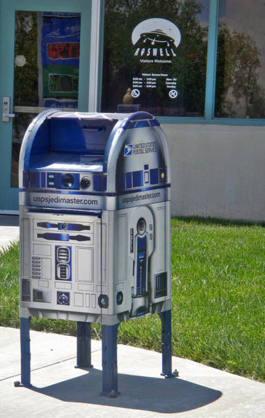Photograph - Area 51 Mailbox by Gregory Dyer