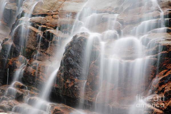 Bemis Photograph - Arethusa Falls - Crawford Notch State Park New Hampshire Usa by Erin Paul Donovan