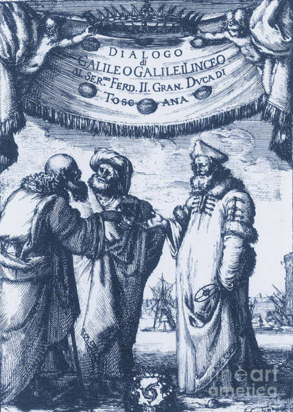 Dialogue Photograph - Aristotle, Ptolemy And Copernicus by Science Source