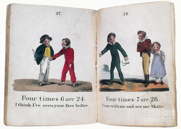 Photograph - Arithmetic Book, C1815 by Granger