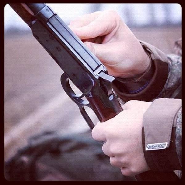 Rifles Photograph - #arkansas #midsouth_igers #gun #shotgun by Elizabeth Fitzgerald