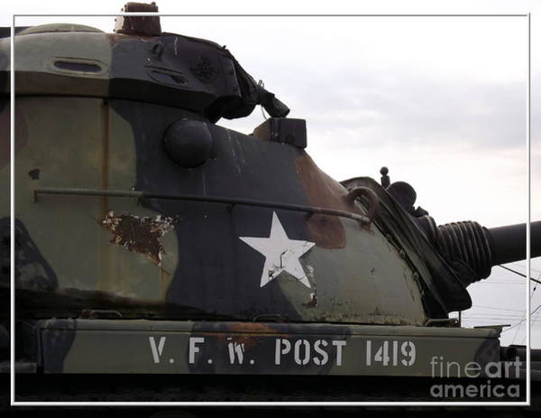 Photograph - Armored Tank by Rose Santuci-Sofranko
