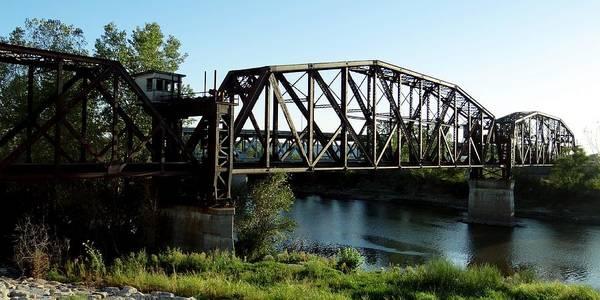 Photograph - Armourdale Rock Island Bridge by Keith Stokes