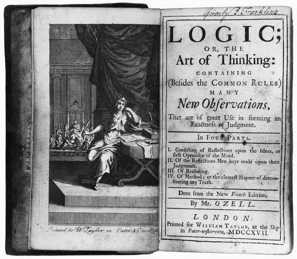 Photograph - Arnauld & Nicole: Logic by Granger