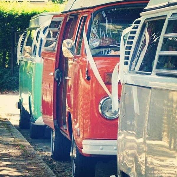 Vw Kombi Photograph - Arnie At The Back Of The Queue by Jimmy Lindsay