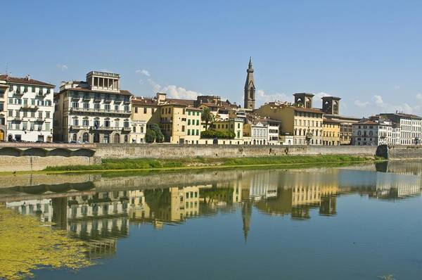 Photograph - Arno Reflection by Richard Henne