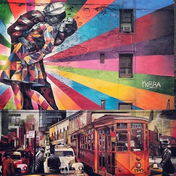 City Scenes Wall Art - Photograph - Art By Kobra by Randy Lemoine