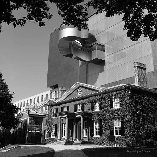 Photograph - Art Gallery Of Ontario by Andrew Fare