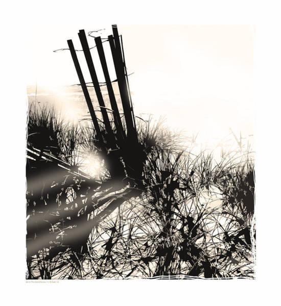Sawgrass Digital Art - Art In The Sand Series 1 by Bob Salo