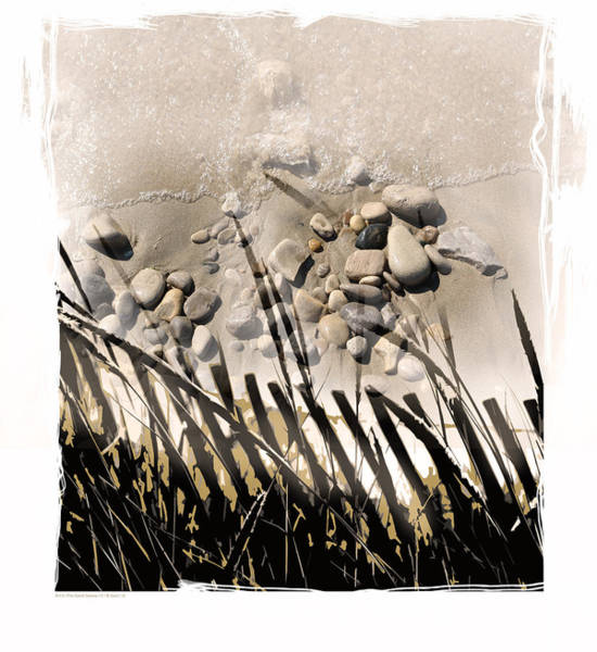 Sawgrass Digital Art - Art In The Sand Series 2 by Bob Salo