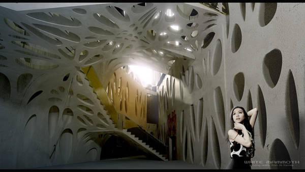 Stereoscopy Digital Art - Artacademy by White Mammoth