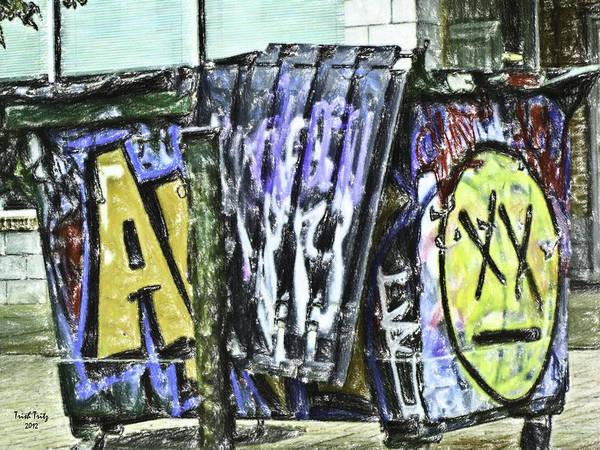 Photograph - Artful Trash by Trish Tritz